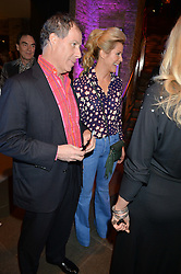 VISCOUNT & VISCOUNTESS LINLEY at a Night of Disco in aid of Save The Children held at The Roundhouse, Chalk Farm Road, London on 5th March 2015.