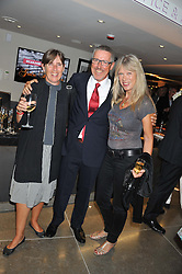 Left to right, GRIFF & JO RHYS JONES and NETTE MASON at the opening of the new St.James Theatre, 12 Palace Street, London SW1 on 13th September 2012.
