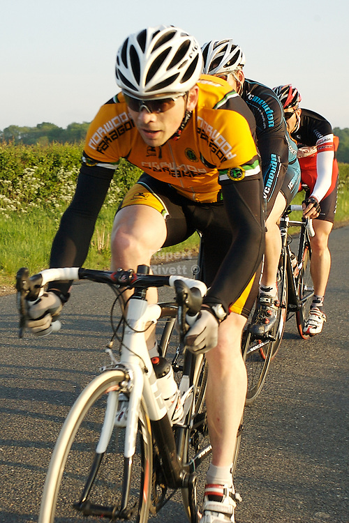 Wivelsfeild Cycle Road Race organised by Sussex Nomads for the Surrey League. <br /> Held on Thursday 27/05/10