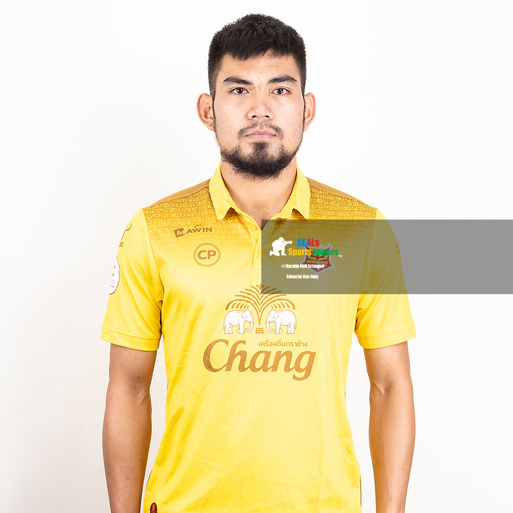 THAILAND - JUNE 29: Rangsan Wiroonsri #22 of Sukhothai FC on June 29, 2019.<br /> .<br /> .<br /> .<br /> (Photo by: Naratip Golf Srisupab/SEALs Sports Images/MB Media Solutions)