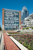 Artworks Mural Poem by Great American Ball Park