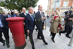 AUG 29 2014 Nigel Farage in Clacton on Sea
