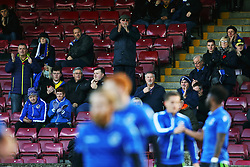 Bristol Rovers fans applaud the players - Mandatory by-line: Matt McNulty/JMP - 11/11/2017 - FOOTBALL - Glanford Park - Scunthorpe, England - Scunthorpe United v Bristol Rovers - Sky Bet League One