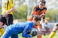 23-04-2016: Voetbal: Woudenberg v Montfoort: Woudenberg<br /> <br /> Joost van Apeldoorn van vv Montfoort<br /> <br /> Foto: Gertjan Kooij