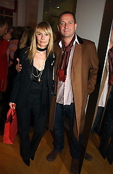 Actor SEAN PERTWEE & the HON.MRS PERTWEE at Garrard's Winter Wonderland party held at their store 24 Albermarle Street, London W1 on 30th November 2006.<br />