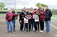 OC Softball Senior Day - 4/22/2017