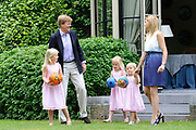 Fotosessie van de Koninklijke familie op Landgoed de Horsten in Wassenaar.<br />