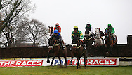 Plumpton, UK. 12th December 2016. <br />  Sartorial Elegance leads the field before winning  the G. E. White &amp; Sons Agricultural Buildings Handicap Chase<br /> &copy; Telephoto Images / Alamy Live News