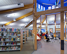 Colorado Rocky Mountain School Library, Carbondale, Co