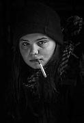 """Zoé Héran par Sylvain Labeste Portraits d'acteurs et de techniciens sur le tournage de """"Nos Vies Formidables"""" de Fabienne Godet. Lumière naturelle. Janvier 2017."""