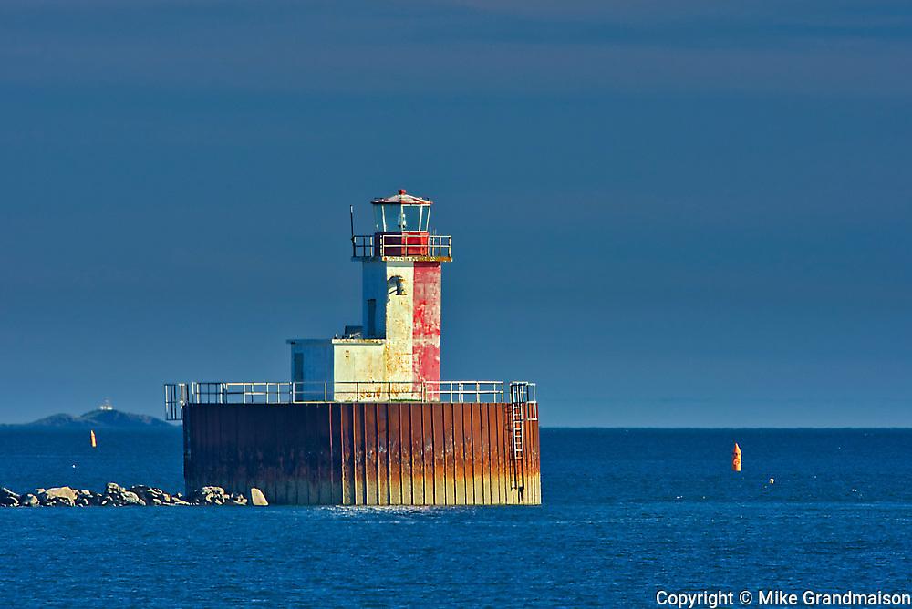 Bunker Island Lighthouse<br />Yarmouth<br />Nova Scotia<br />Canada