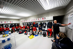 Dusan Razborsek, coach during friendly football match between NK Fantazisti (SLO) and 1st TFC - First Tennis & Football Club (AUT) presented by professional and former tennis players, on November 25, 2017 in Nacionalni nogometni center Brdo pri Kranju, Slovenia. Photo by Vid Ponikvar / Sportida
