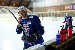 Jan Urbas at first practice of Slovenian National Ice Hockey team before EIHC tournament in Innsbruck, on November 4, 2013 in Ledena dvorana Bled, Bled, Slovenia. (Photo by Matic Klansek Velej / Sportida.com)