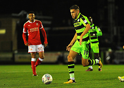 Will Randall of Forest Green Rovers in action- Mandatory by-line: Nizaam Jones/JMP - 22/09/2017- FOOTBALL - New Lawn Stadium - Nailsworth, England - Forest Green Rovers v Swindon Town - Sky Bet League Two
