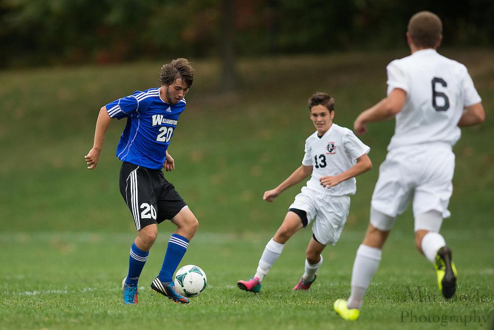 Pitman High School Boys Soccer Hosts Williamstown High School  at Alcyon Park in Pitman, NJ on Wednesday October 9, 2013. (photo / Mat Boyle)