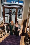 ANITA JOHANSSON; ALISON LAPPER; , An evening of entertainment at St James Court in support of the redevelopment of St Fagans National History Museum. In the spirit of the court of Llywelyn the Great . St. James Court Hotel. London. 17 September 2015<br />  <br /> Noson o adloniant yn St James Court i gefnogi ail-ddatblygiad Sain Ffagan Amgueddfa Werin Cymru
