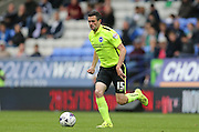 Brighton winger, Jamie Murphy in action during the Sky Bet Championship match between Bolton Wanderers and Brighton and Hove Albion at the Macron Stadium, Bolton, England on 26 September 2015.