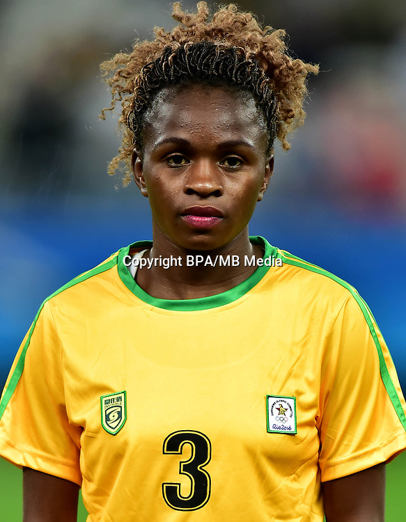 Fifa Woman's Tournament - Olympic Games Rio 2016 -  <br /> Zimbabwe National Team - <br /> Shiela MAKOTO