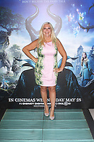 Vanessa Feltz, Celebrity Screening of Maleficent, Odeon Leicester Square, London UK, 25 May 2014, Photo by Brett D. Cove
