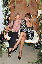 Left to right, VANESSA MIEDLER and REBECCA LOOS at the Quintessentailly Summer Party at the Phillips de Pury Gallery, 9 Howick Place, London on 9th July 2008.<br /><br />NON EXCLUSIVE - WORLD RIGHTS