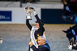 Werth Isabell, GER, De Vos Ingmar, BEL<br /> LONGINES FEI World Cup™ Finals Gothenburg 2019<br /> © Hippo Foto - Dirk Caremans<br /> 06/04/2019