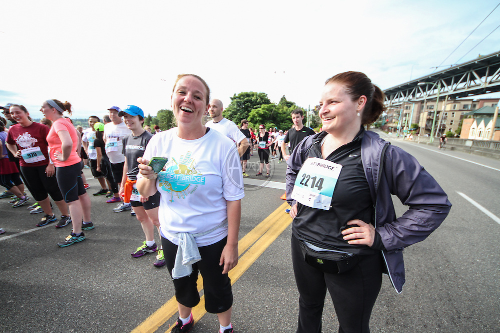Nordstrom 2014 Beat The Bridge Run benefitting JDRF..