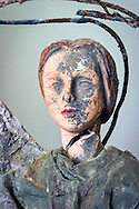 May 24, 2007, Broken angel found in a home destroyed by Hurricane Katrina in New Orleans.