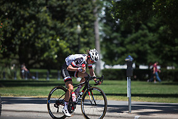Ruth Winder (USA) of Team Sunweb attacks on Stage 3 of the Amgen Tour of California - a 70 km road race, starting and finishing in Sacramento on May 19, 2018, in California, United States. (Photo by Balint Hamvas/Velofocus.com)