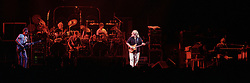 """Panoramic View of The Grateful Dead Live at the Hampton Coliseum on 9 October 1989. One of the """"Formerly The Warlocks"""" concerts. Limited Edition Photographic Prints available for purchase in Cart."""