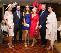 30/07/2015 report free :  Mary Lee, (Judge)John Faller Faller's Jewellers   Roz Purcell  with  Tara Mc Grath, Tuam Co. Galway Winner, Cian O Brion, Hotel Meyrick and Mandy Maher (Judge)Catwalk Models at the 4 star Hotel Meyrick's Most Stylish Lady competition, and John Faller Faller's  for Ladies Day Galway Race week 2015, Judges were by leading Irish Model Rozanna Purcell,  Mandy Maher Catwalk Models and Mary Lee , Model The winners received an amazing €2,000 prize package from Fallers of Galway . Photo:Andrew Downes, xposure