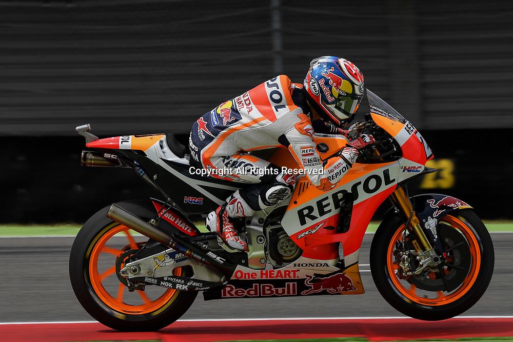 June 23rd 2017, TT Circuit, Assen, Netherlands; MotoGP Grand Prix TT Assen, Free practice Day; Dani Pedrosa (Repsol Honda) during the free practice