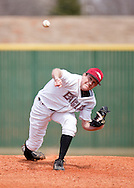 March 19, 2010: The Wayland Baptist University Pioneers play against the Oklahoma Christian University Eagles at Dobson Field on the campus of Oklahoma Christian University.