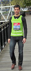 © under license to London News Pictures. 15/04/2010 David Gandy attends photocall ahead of this Sundays 2011 London Virgin Marathon by Tower Bridge London. Photo credit should read ALAN ROXBOROUGH /LNP