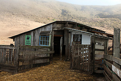 Goat stables, Slide Ranch, Golden Gate National Recreation Area, Muir Beach, California, United States of America
