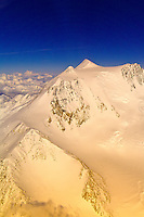 Aerial views of Mt. McKinley and the Alaska Range, Denali National Park, Alaska