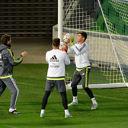 Real Madrid training   Melbourne Australia   16 July 2015