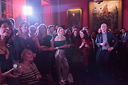 Literary Review Christmas party and Bad SEx Awards. In and Out club. St. James Sq. London. 3 December 2018