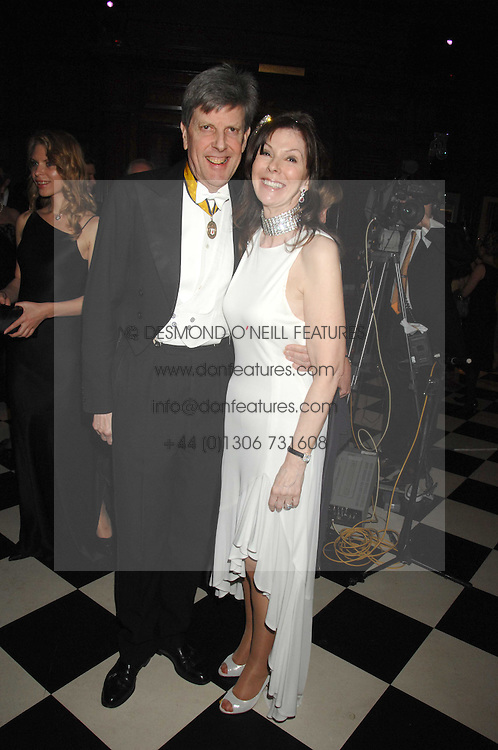JENNIE HALLAM-PEEL and SIR TOBIAS CLARKE at the 2008 Berkeley Dress Show at the Royal Hospital Chelsea, London on 3rd April 2008.<br /><br />NON EXCLUSIVE - WORLD RIGHTS