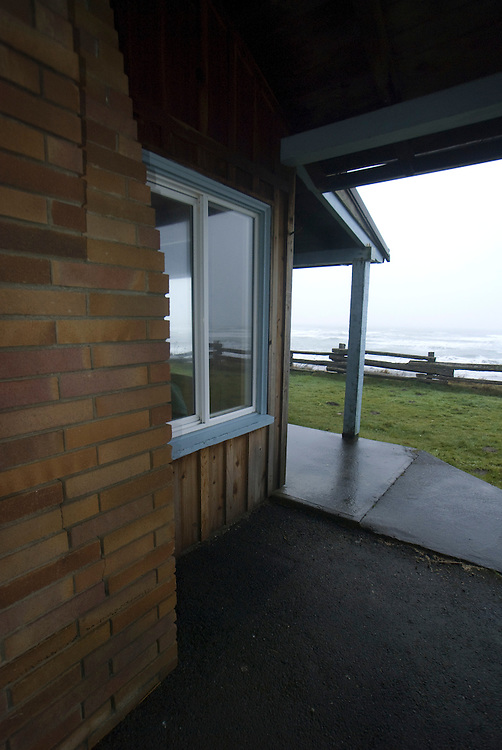Cabin at Kalaloch Lodge, Kalaloch, Olympic National Park, Washington, US