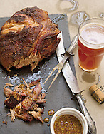 Smoked pork shoulder for the grilling story in capital style. (Will Shilling/Capital Style)