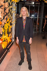 DOMINIC JONES at the 3rd anniversary party of Sushisamba at the Heron Tower, 110 Bishopsgate, City of London on 10th November 2015.