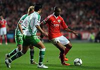 20120114: LISBON, PORTUGAL – Liga Zon Sagres 2011/2012: SL Benfica vs V. Setubal. In picture: Emerson (Benfica).<br />PHOTO: Alvaro Isidoro/CITYFILES