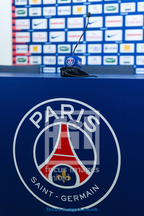 Picture by Andrew McLean Brown/Focus Images Ltd + 33 670 67 8592<br /> 30/01/2014<br /> Laurent Blanc pictured during the Press Conference at Ooredoo Training Centre, Saint-Germain-En-Laye, France.