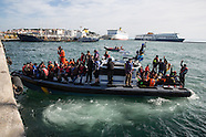 Refugees arrive on Lesvos, 07.03.16
