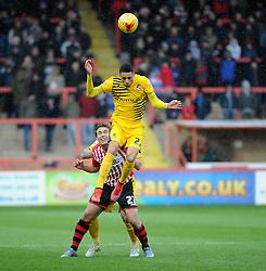 Daniel Leadbitter - Mandatory byline: Neil Brookman/JMP - 28/11/2015 - FOOTBALL - ST James Park - Exeter, England - Exeter City v Bristol Rovers - Sky Bet League Two