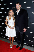 Sarah Jessica Parker and Tim Armstrong attend the 2014 AOL Newfront at the Duggal Greenhouse in the Brooklyn Navy Yard in Brooklyn, New York in April 29, 2014. Photo by Donna Ward/ABACAUSA.COM