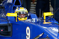 ERICSSON marcus (swe) sauber f1 c34 ambiance portrait  during 2015 Formula 1 championship at Melbourne, Australia Grand Prix, from March 13th to 15th. Photo DPPI / Frederic Le Floch.