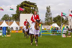 Wathelet Gregory (BEL) - Cadjanine Z<br /> FEI Nations Cup La Baule 2012<br /> © Dirk Caremans