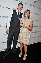 JESSICA ENNIS and JAKE HUMPHREY at the Glamour Women of The Year Awards 2011 held in Berkeley Square, London W1 on 7th June 2011.