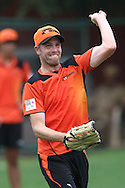 Michael Beer of Perth Scorchers during the Perth Scorchers Training Session held at the Sawai Mansingh Stadium in Jaipur on the 28th September 2013<br /> <br /> Photo by Shaun Roy-CLT20-SPORTZPICS <br /> <br /> Use of this image is subject to the terms and conditions as outlined by the CLT20. These terms can be found by following this link:<br /> <br /> http://sportzpics.photoshelter.com/image/I0000NmDchxxGVv4